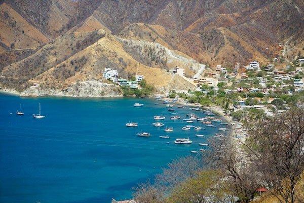 dive in the caribbean sea taganga santa marta
