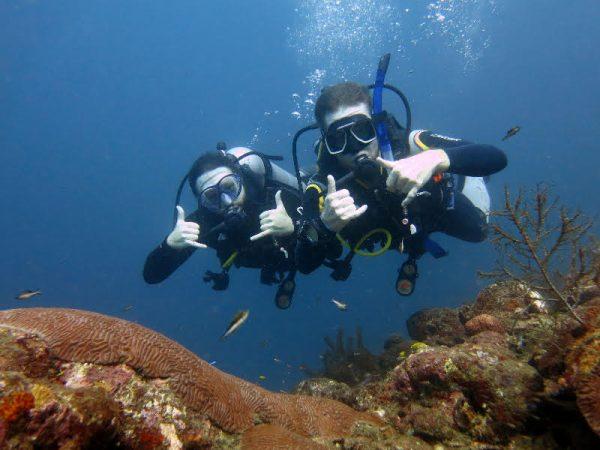 padi diving course taganga buceo tauchen santa marta