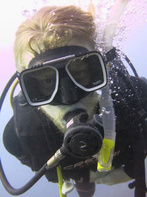 diver taganga tayrona