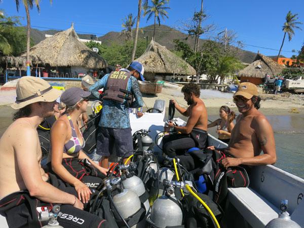 taganga dive course santa marta