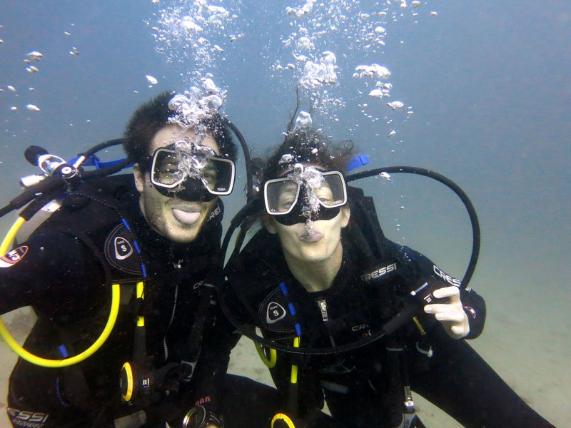Open Water course – E-learning & Dives