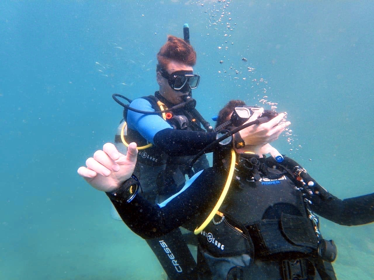 diver rescue diver training