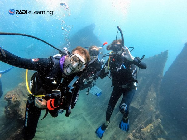 scuba diving elearning course